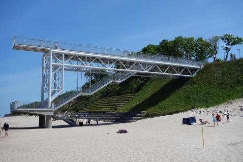 Seebrücke in Hoff