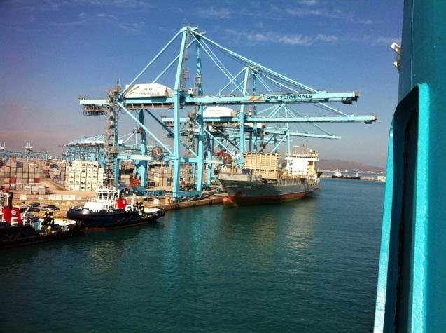 Algeciras Hafen