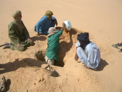 feuchter Sand