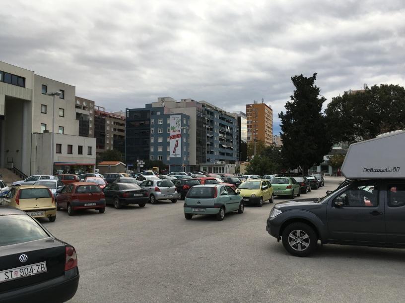 Übernachtungsplatz Split