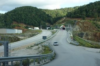 Autobahn im Bau