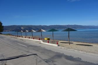 Strand vorm Camping