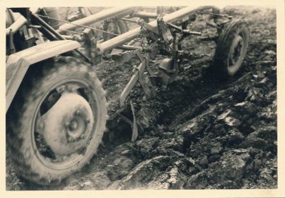 Alldog mit Pflug 1959